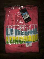Nike Lyrical Lemonade x Jordan Hoodie Pink Sweatshirt CW1122-670 SHIPS NOW!