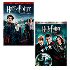 Harry Potter 2-Pack DVD Set - Order of the Phoenix & Goblet of Fire - Widescreen