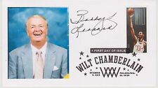 """SIGNED BOB """"SLICK"""" LEONARD AUTOGRAPHED FIRST DAY COVER INDIANA PACERS HOF"""