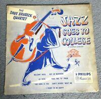THE DAVE BRUBECK QUARTET - Jazz Goes To College (BBL 7041) Vinyl LP Cool Jazz