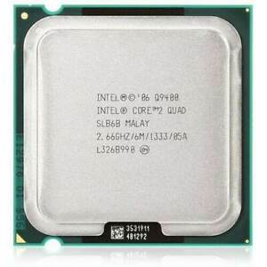 Intel Core 2 Quad Q9400 Q9450 Q9500 Q9505 Q9550 Q9650 Socket 775 CPU Quad Core