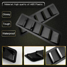 Bonnet Hood Vent Trim Louver Air Flow Intake 2Pcs For Ford Nissan Subaru Impreza
