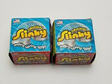 The Original Slinky Metal Walking Spring Kids Toy NEW Lot of 2