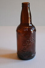 Vintage Sioux City Cream Soda Bottle Brown Bucking Bronco No Chips EC