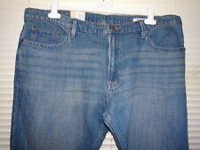 M&S Med Blue Straight Leg Jeans *Size 44L* BNWT RRP £35.00  **33 Leg**