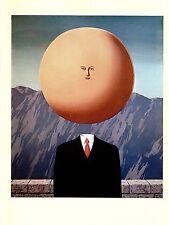 """1974 Vintage MAGRITTE """"THE ART OF LIVING L'ART DE VIVRE"""" COLOR offset Lithograph"""