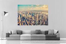 NEW YORK MANHATTAN Wall Art Poster Grand format A0 Large Print