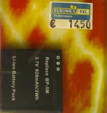 HM 7390 ls batería Li-ion 3,7v/920mah para Nokia bp-5m 7390 5700