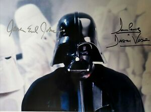 Dave Prowse DARTH VADER Signed Print ~ 12x4 A4 ~ STAR WARS Autograph Print