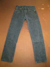 Vintage Levis 501 Jeans 90er W33 L34 (W33/L36) Schwarz Herren Damen