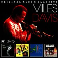 MILES DAVIS - ORIGINAL ALBUM CLASSICS  5 CD NEW