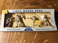 Timpo Model Toys Vintage Hand Painted Lead Soldier Figurine Rare Selling As-Is