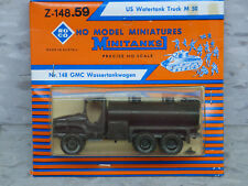 Roco Minitanks (New) WWII US GMC 2.5T M-50 1000 Gal. Watertank Truck  Lot #937K