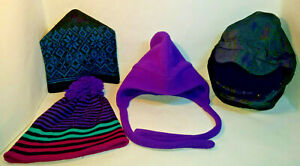 Misc Vintage Snow Skiing Caps Hats - You Choose - PreOwned