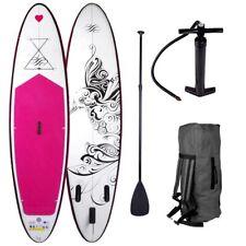 "SUP Board Stand Up Paddle Paddling Surfboard ""Kolibri"" 300cm aufblasbar Paddel"