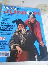 MAGAZINE VINTAGE BURDA  JUNIOR  AUTOMNE HIVER 1996/1997  8/14 ANS