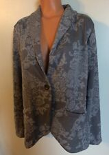 •• Women's Maurices Plus Size 0 Blouse Button Front Jacket LS Shirt V Neck Nice!