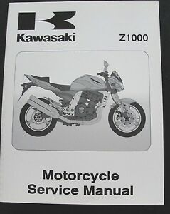 ORIGINAL 2003 KAWASAKI 1000 Z1000 MOTORCYCLE REPAIR SERVICE MANUAL MINT SHAPE