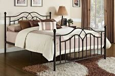 Metal Bed Frames With Headboard Full Footboard Contemporary Bedroom Comfortable