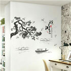 Removable Lake And Mountains Wall Sticker Art Mural Wall Decal Home Decor Diy Eh