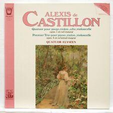 QUATUOR ELYSEEN - DE CASTILLON quartet op.7 trio op.4 ARION LP NM