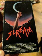 Scream Vestron Video Woody Strode Hank Worden horror movie HTF RARE!!!