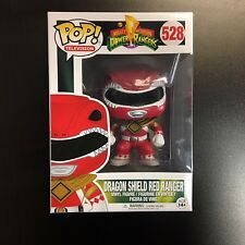 Funko POP Power Rangers Red Ranger Dragon Shield Exclusive