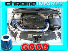 BLUE 06 07 08 09 CHEVY MALIBU/PONTAIC G6 3.9 3.9L V6 FULL AIR INTAKE KIT