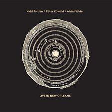 Kidd Jordan / Peter Kowald / Alvin Fielder -Live in New Orleans- NEW 2xLP fmp