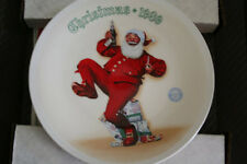 "1989 Norman Rockwell ""Jolly Old St. Nick"" Collector Plate"