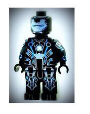 Custom Designed Minifigure Ironman Stealth Suit Superhero