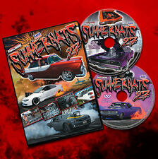 Official Street Machine SUMMERNATS 27 DOUBLE DVD! V8s Burnouts Showcars + MORE!