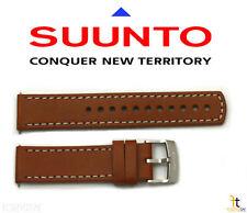 Suunto Elementum Original Brown Leather Watch Band Strap Kit w/ 2 Pins
