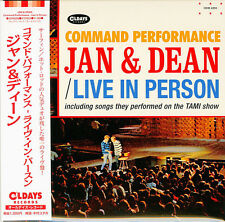 JAN & DEAN-COMMAND PERFORMANCE - LIVE IN PERSON-JAPAN MINI LP CD C94