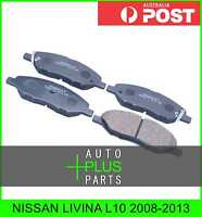 Fits NISSAN LIVINA L10 Pad Kit, Disc Brake, Front
