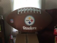 9c2dd93b8 AFC NFL Pittsburgh Steelers Airblown Inflatable Indoor 4 Foot Wide Football
