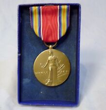 WWII Medal and Ribbon in Original Box Freedom from Fear and Want Speech Religion