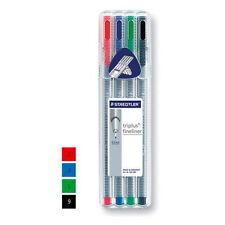 STAEDTLER Triplus 0.3mm Fineliner Brilliant 4-Colours SET Pen 334-SB4 are