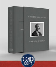 New ListingSigned Barack Obama Autographed Deluxe Copy A Promised Land