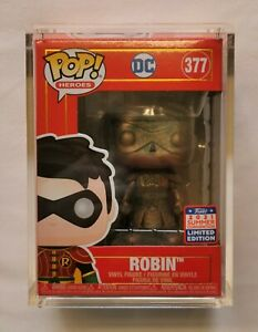 #377 Robin (Patina). Imperial Palace. Funko Pop! Heroes. 2021 Summer Con Exc.