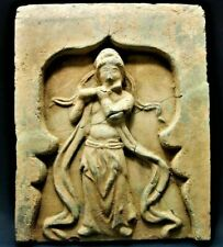 More details for ancient chinese terracotta song dynasty wall tile - circa 1100ad (coa)