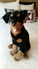 Rottweiler Stuffed Animal Dog