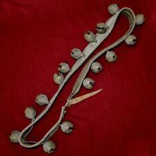 Set Tibet Early Brass/Bronze Lion Head Bell-metal Neck Bells Horse Tack Musical