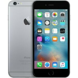 Apple iPhone 6 64GB - Unlocked and refurbished - Space Grey - no Touch ID