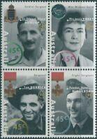 Australia 1995 SG1521-1524 WWII Heroes block MNH