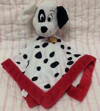 Disney Baby 101 Dalmations Puppy Dog baby Security Blanket black white red