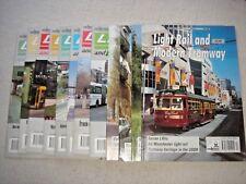 LIGHT RAIL & MODERN TRAMWAY MAGAZINE 1994 12 ISSUES COMPLETE SET