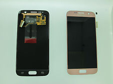 SAMSUNG GALAXY S7 G930F LCD TOUCH SCREEN DISPLAY ORIGINAL GENUINE PINK GOLD UK