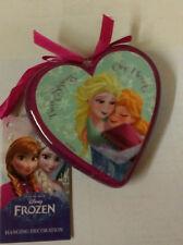 Disney Frozen en Forme de Cœur Cintre - Sœur Meilleur Ami Cadeau Noël Décoration
