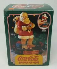 Vintage 1993 Ertl Coca-Cola Santa Claus Mechanical Bank 1st in Series